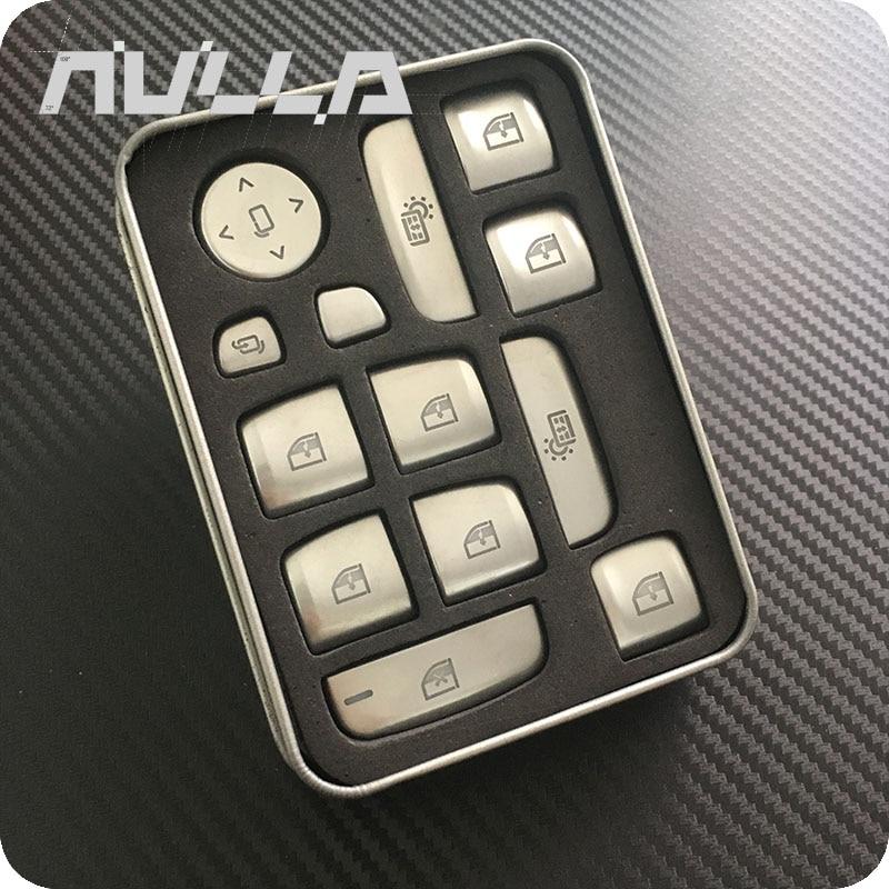 NULLA ドア窓リフトボタンステッカー装飾トリム Bmw 5 シリーズ G30 G38 528i 530i 540i