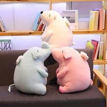 soft cartoon plush toys dream gift animal elephant polar bear cute pig with angel wings Christmas lovely home decor