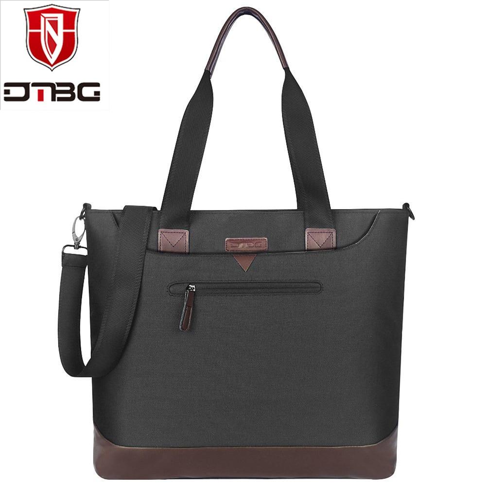 DTBG Women Tote Bag 15.6 Inch Multifunctional Work Travel Laptop Messenger Handbag Casual Nylon Solid Shoulder Bags for Girls