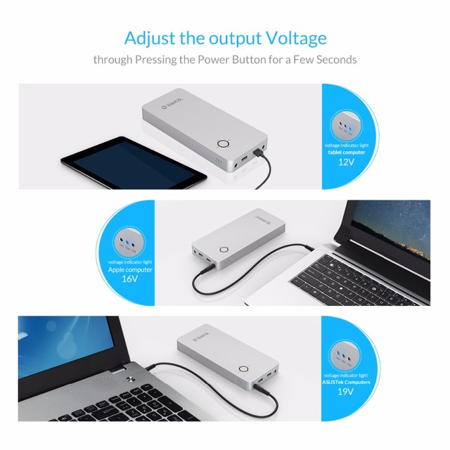 18000mAh Dual USB Power Bank For Notebook and Mobile