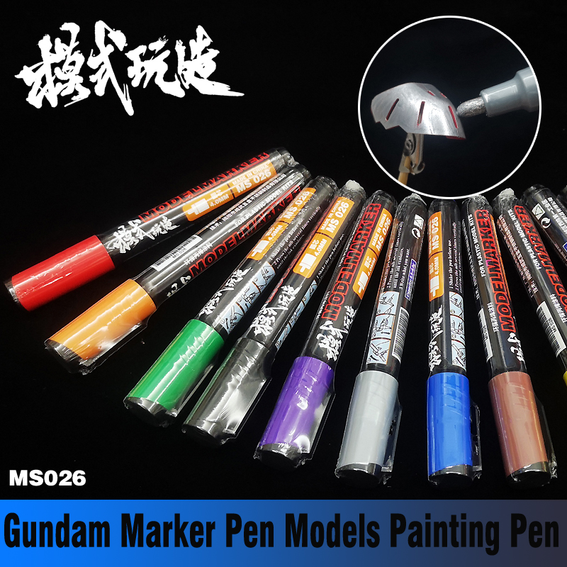 Gundam Marker Pen Environmentally Friendly Paint Has No Smell Models Painting Pen Model Tools  Hobby Airbrush Tools Accessory
