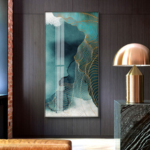 Modern Canvas Paintings Posters and Print for Living Room Bedroom Abstract Wall Art Decorative Large Blue Pictures Home Decor