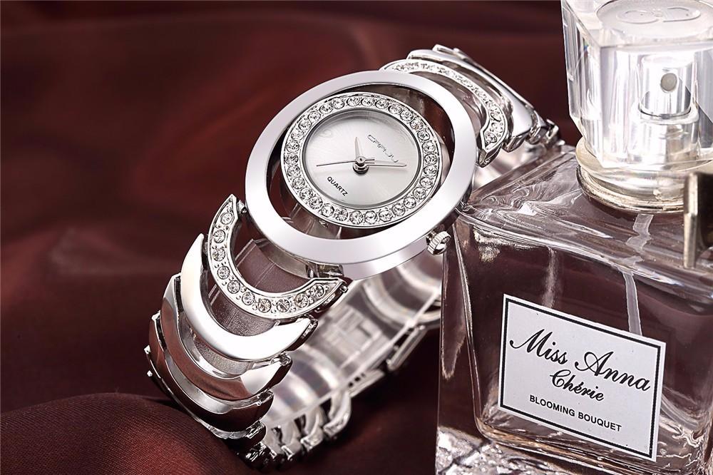 5298d5407617f CRRJU Luxury Women Watch Famous Brand Gold Fashion Design Bracelet Ladies  Watches Women Wristwatches reloj mujer 2017 girl giftUSD 13.99 piece
