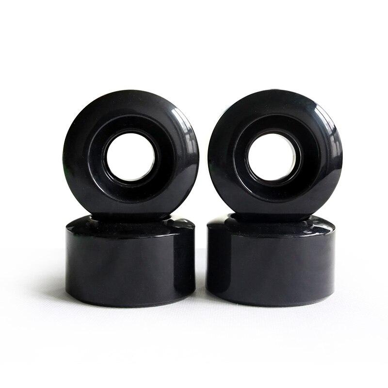 4pcs Per Set 78AA Skateboard Wheels Pu 55*32mm Wheels Double Rocker Skateboard Parts Man Women Skateboard 70% Springback