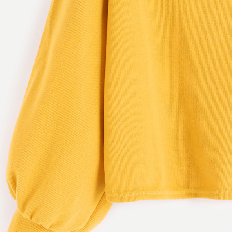 HTB15rDPSXXXXXaTapXXq6xXFXXXc - Funnel Neck Sleeve Lighthouse Patch Sweat Shirt Autumn Yellow Jerseys Ladies' Neck Long Shirts JKP014