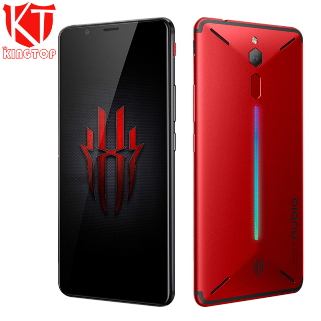 "Original ZTE Nubia Red Magic Game Mobile Phone 6"" Octa Core 6/8GB 64/128GB Full Screen Fingerprint Android 8.1 4G LTE Smartphone"