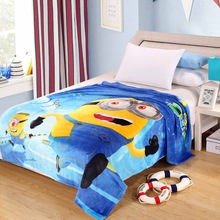Queen Size 150*200 cm Secuaces de Dibujos Animados Doraemon Felpa Fleece Blanket Bed Throw Mantas Manta en La Cama/sofá/Del Coche Del Envío Libre