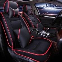 Новые настройки сиденья вообще подушки из искусственной кожи автомобильный коврик автомобиля Стайлинг для BMW Audi Honda Ford Nissan седан внедорожник