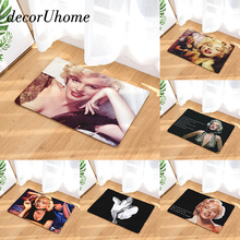 DecorUhome Anti Slip Waterproof Floor Mat Marilyn Monroe Kitchen Rugs  Bedroom Carpets Decorative Stair Mats Home Decor Crafts