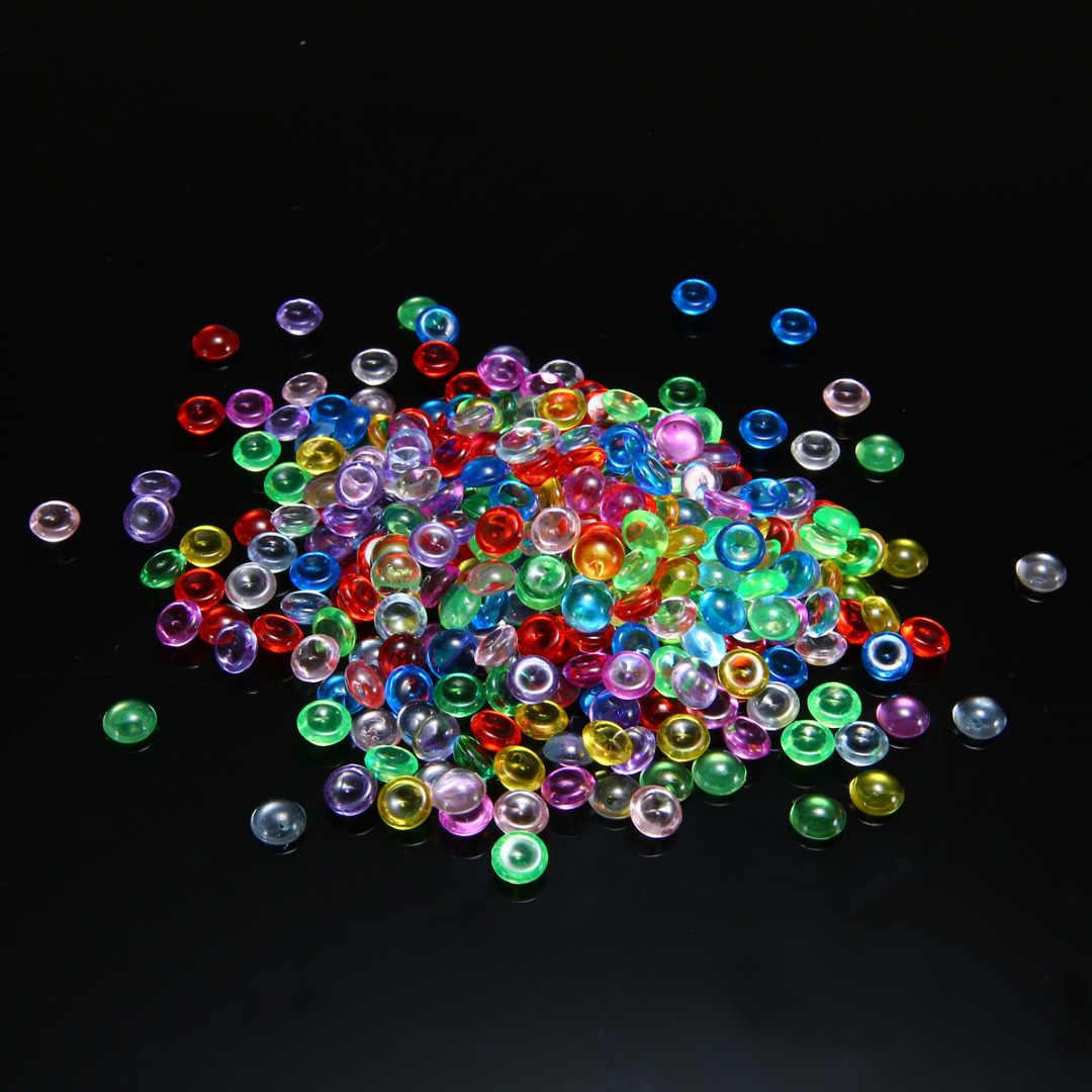 Fish Bowl Vase Filler Beads Colourful Foam Balls DIY Slime Home Decoration For Craft Tools 7mm Diameter