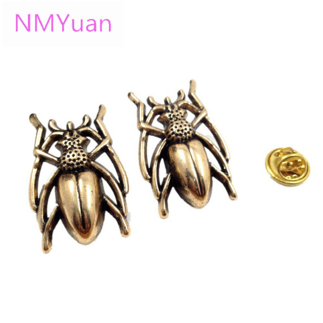 Beetle insect brooch fashion exquisite simulation system class personalized pin brooch wholesale 2015 hot new men