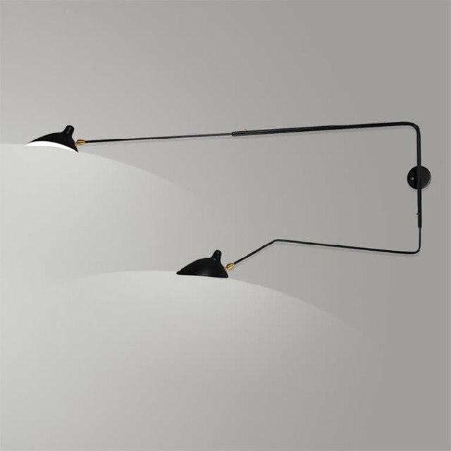Moderne Kreative Wandleuchte 1 Licht 2 Arme Rotierenden Wandleuchte Loft  Retro Esszimmer Schlafzimmer Wandleuchte