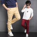 2016 Spring Autumn New Solid Boys Jeans Kids Rushed Cnady Color Fashion Children Jean Trousers Kids Leggings Boys Pants
