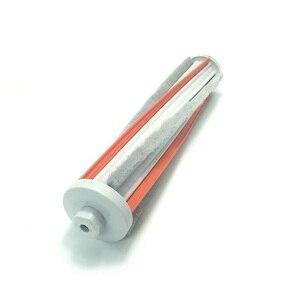 Image 5 - Cabezal de cepillo eléctrico de tierra para aspiradora Xiaomi Roidmi F8, cepillo de rodillo de lana suave de fibra de carbono
