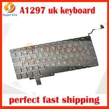 New Laptop UK British English Keyboard for Apple Macbook Pro 17″ A1297 UK Keyboard 2009-2011 MB604 MC226 MC024 MC725 MD311