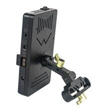 CAME TV Placa de batería de montaje en V incluye Cable de conexión 5V 7,2 V 12V