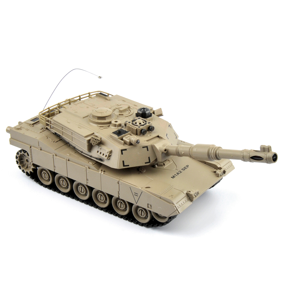 Image 5 - 1/28 RC Tank Remote Control Toys Battle RC Tank M1A2 Automatic Presentation Tanks Via Musical scal Toys For Boys Xmas Gifts-in RC Tanks from Toys & Hobbies