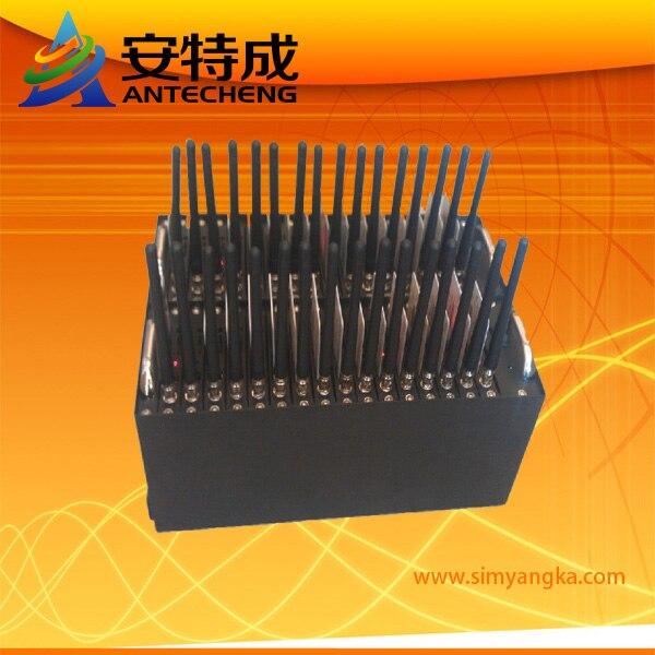 USB 32 port wireless Quad Band GSM GPRS Modem Q24plus at Command