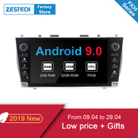 ZESTECH Android 9,0 2 din автомобильное радио dvd плеер для Toyota Camry 2007 2008 2009 2010 автомобильное радио стереосистема dvd мультимедийные для camry
