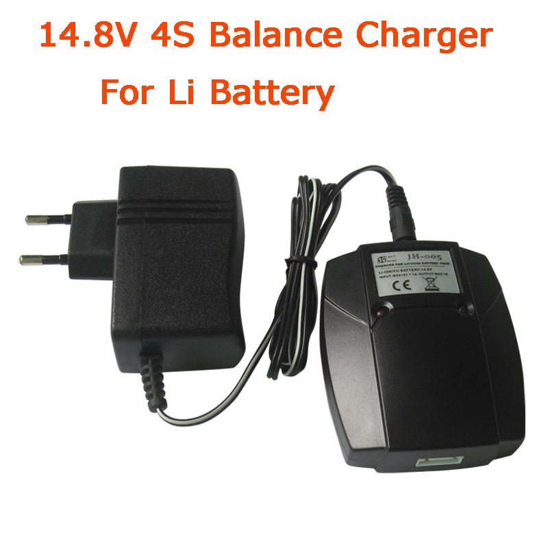 14.8V  4S Balance Charger For Feilun FT010 FT011 Rc Boat Balance Charger Plug And Other 14.8V Li Battery 800g electronic balance measuring scale with different units counting balance and weight balance