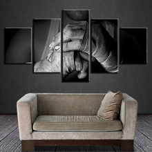 Canvas Paintings Wall Art Unframed Living Room Modular Hd Prints 5 Pieces Mixed Martial Arts Poster Home Decor Boxing Pictures