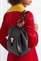 2018 г. новые туфли из натуральной кожи рюкзак женская мода best в этом году рюкзак Для женщин бренд мешок импортируется из коровьей рюкзак