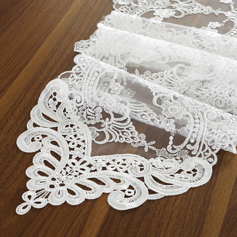 Hot Promo Fc84 Proud Rose White Lace Table Flag Table Mat