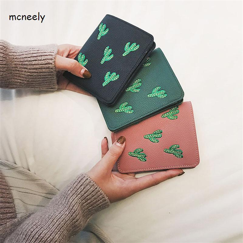 Hot Sale Fashion Short Women's Wallets Lady Mini Card Holder Wallet Female Credit Card Coin Purse simline fashion genuine leather real cowhide women lady short slim wallet wallets purse card holder zipper coin pocket ladies