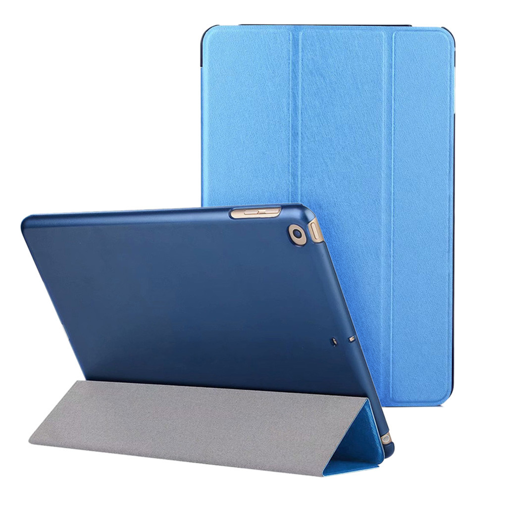 For iPad 6th Generation 2018 9.7 Slim Magnetic Leather Smart Cover Case For Apple Pu Leather Smart Cover Case For Ipad Pro 10.5