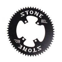 Kamień owalny rower pojedynczy łańcuch BCD 110 wąski szeroki 110mm pasuje Ultegra R8000 Dura Ace R9100 9 12s składany rower szosowy koło łańcuchowe w Korby i zębatki rowerowe od Sport i rozrywka na