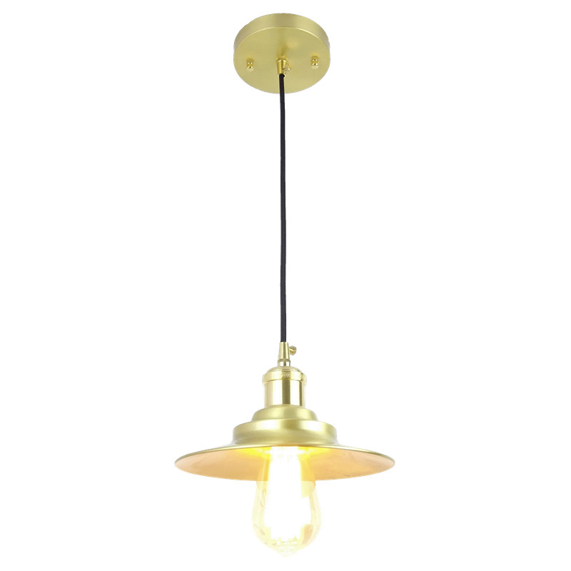 D200mm Vintage brass Pendant Light Loft Creative Personality Style For Living Room window shop home decoration copper lightingD200mm Vintage brass Pendant Light Loft Creative Personality Style For Living Room window shop home decoration copper lighting