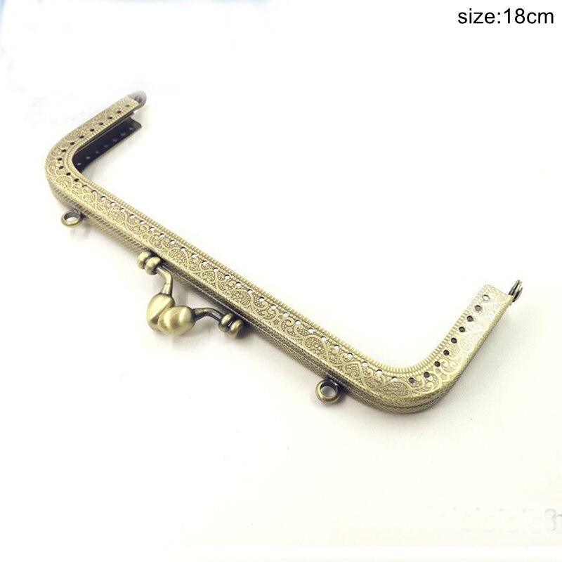 18 20 centímetros Bolsa Metal Frame Handle