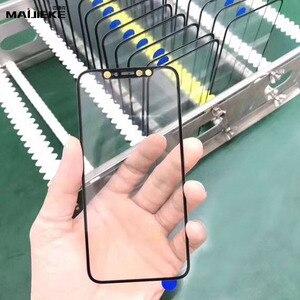 Image 5 - Pantalla de prensado en frío 3 en 1, cristal frontal + marco + película OCA para iphone XR, XS, X, 8 plus, 7, 6s, 6 plus, piezas de repuesto de vidrio 5s, 10 Uds.