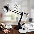 Pixar LED estudio ocular con lámpara de trabajo americano largo brazo del anclaje clip Retráctil lámpara de la mesita de clip de cinturón ordenador