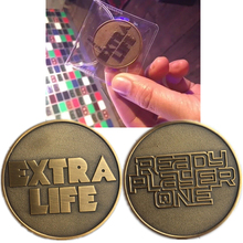 Moive Ready Player One Extra Life Coin Cosplay Prop
