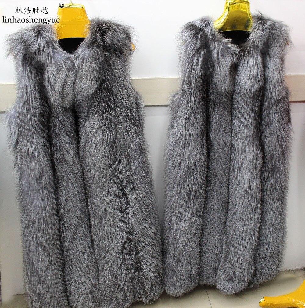 Linhaoshengyue Longue Long 105 Cm Fox Furvest De Nature Vraie La pgpBrHq