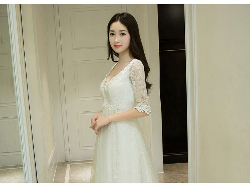 2ea961c530dde Summer Dew Shoulder Collar Sling Women\'s Wear Bow Dress Wrapped Chest  Short Skirt Maternity Photography Props For Photo Shoot