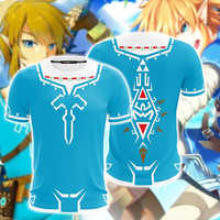 BIANYILONG 2019 New Summer Casual Short Sleeve Tops&Tees The Legend of Zelda: Breath of the Wild Link Cosplay Unisex 3D T-shirt