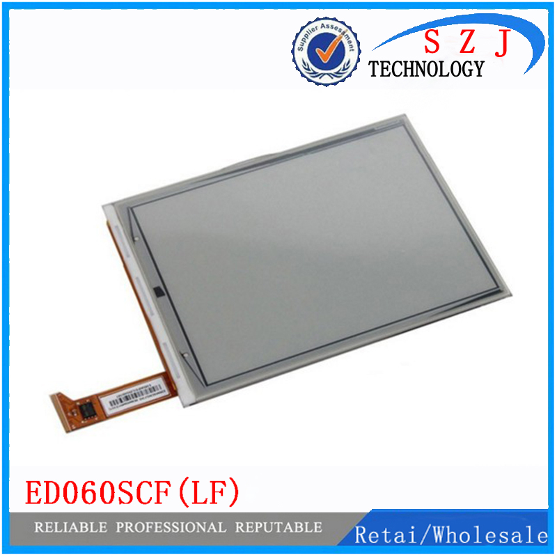 New 6'' inch For Amazon Ebook Kindle 4 PVI ED060SCF(LF)T1 E-ink LCD display for Amazon kindle 4 Ebook Reader Free shipping brand new ed097oc4 lf screen replacement for amazon dxg reader daily edition digital free shipping