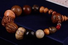 Moda biżuteria w stylu vintage naturalne 18 nasiona bodhi bransoletka MALA bransoletki budda charm bransoletka tybet buddyjski modlitwa koraliki drewniane