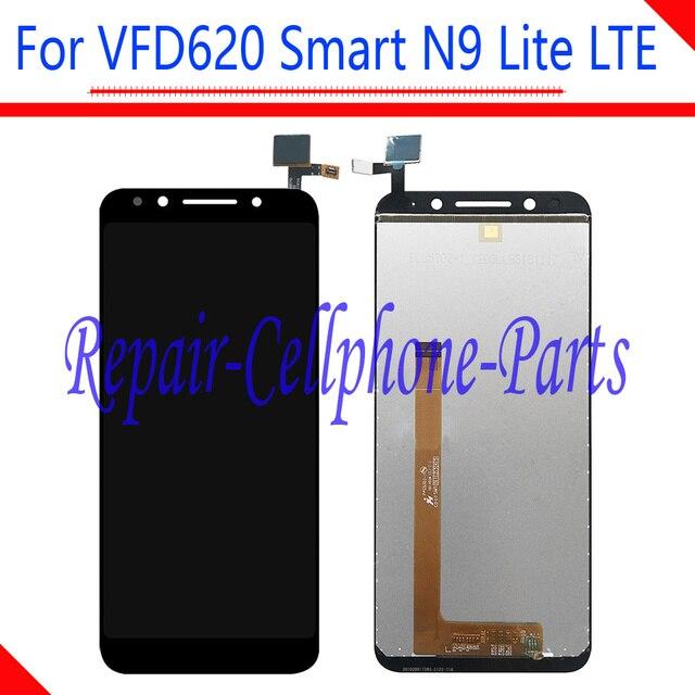 5.3 cal nowy czarny pełna wyświetlacz LCD + ekran dotykowy digitizer zgromadzenie dla Vodafone VFD620 inteligentny N9 Lite LTE VFD 620 darmowa wysyłka