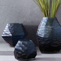 Europe glass vase diamond Hydroponics Flower arrangement vases Tabletop large vase home decoration accessories modern