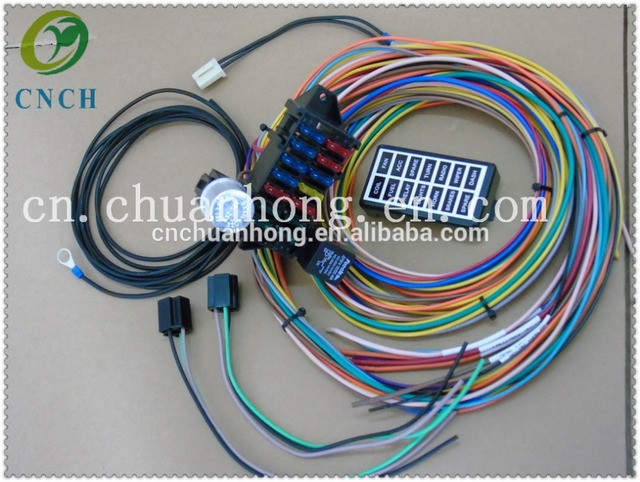 cnch car driving cab fuse box and relay wire harness in cnch car driving cab fuse box and relay wire harness