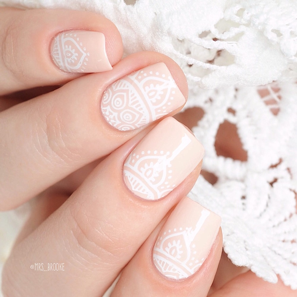 Kads new full beauty lace flower nail art print stamping plates nail kads new full beauty lace flower nail art print stamping plates nail polishtemplate manicure stencil diy styling tools in nail art templates from beauty izmirmasajfo