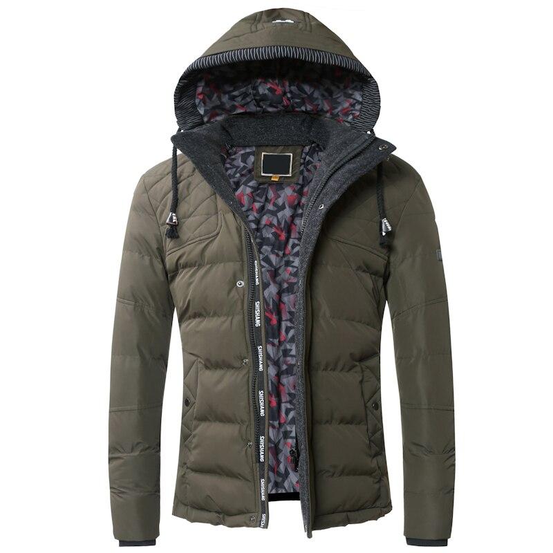 Winter Jacket font b Men b font 2016 Fashion Designer Warm Thick Male font b Hoodies