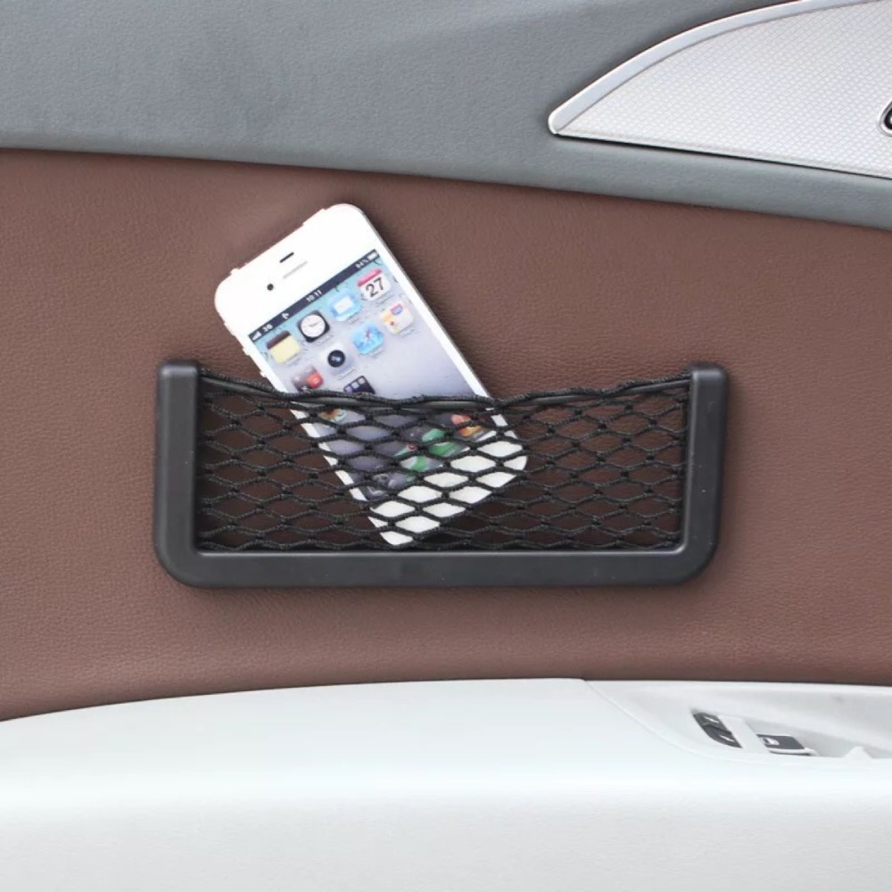 5 Stück Auto Lagerung Tasche Auto Multi-funktion Handy Box Schutt Lagerung Net Tasche Schutt Lagerung Box