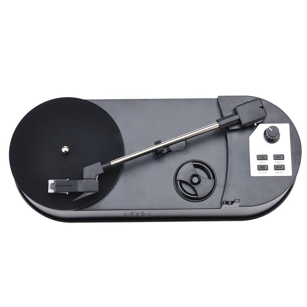 Lecteur Flash USB à usage domestique cadeau Portable lecteur de disque Simple convertisseur de platine vinyle pour MP3 Mini Audio