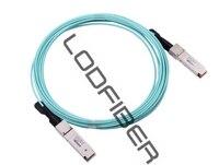 2 m (7ft) Arista רשתות AOC-Q-Q-100G-2M תואם 100 גרם QSFP28 כבלים אופטיים פעילים