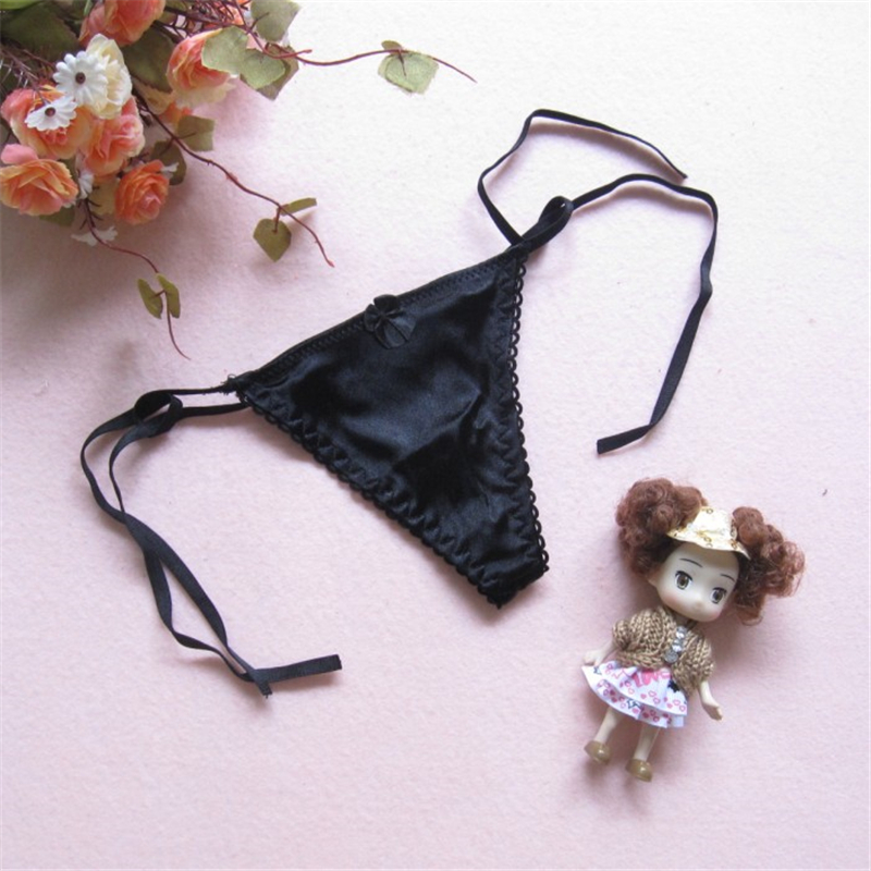Free Size Cotton Soft Thong G-string Lovely Sexy Underwear Women's Panties Low Waist String Lingerie Intimates Thongs Girl's