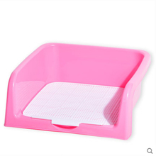 High Qualit Indoor Pet Dog Toilet Training Pad Plastic Tray Mat Pet Supplies Accessories Puppy Small Dog Bed Toilet Potty QQM877(China)